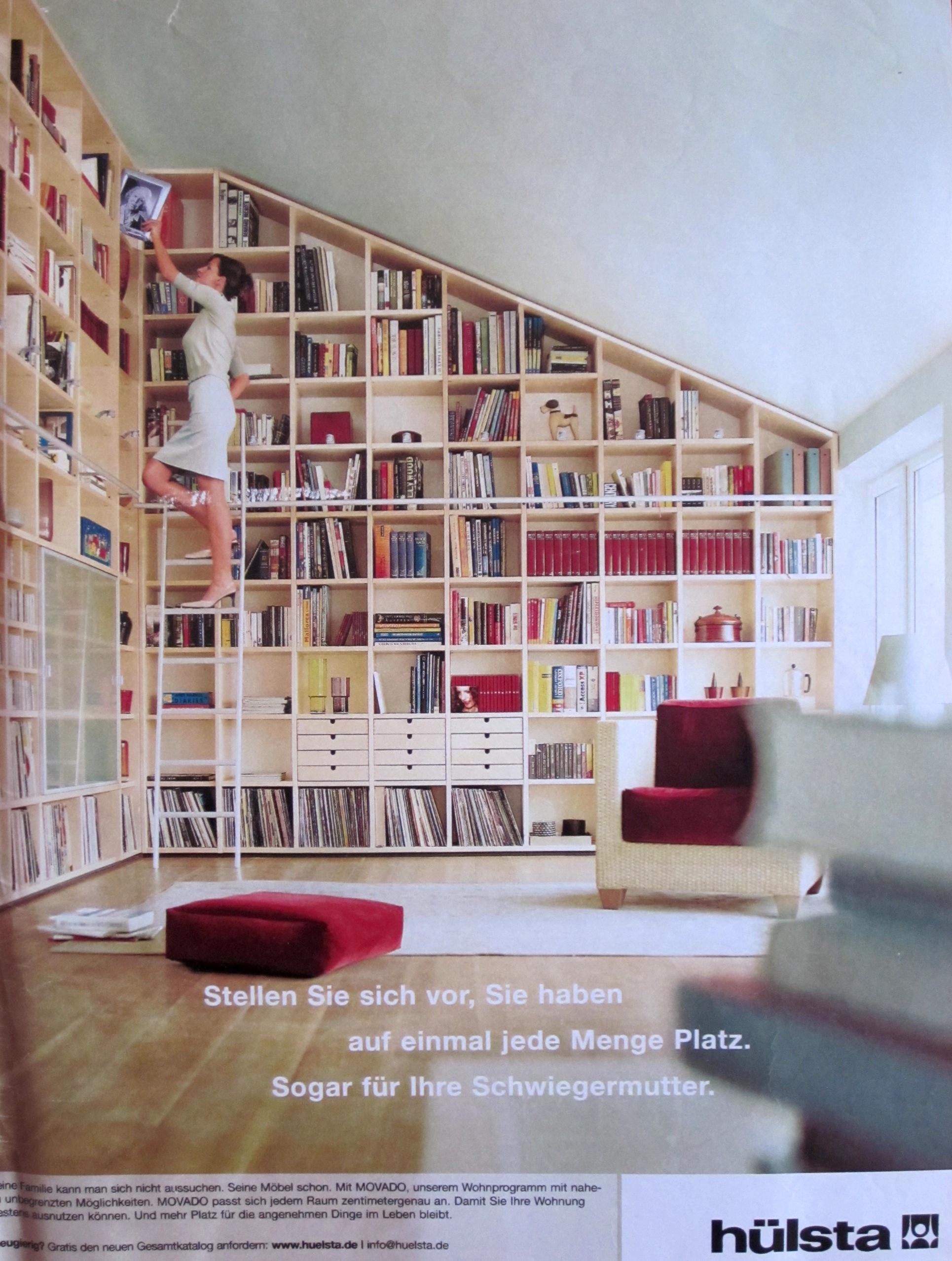 xxl regal mit leiter silberlicht. Black Bedroom Furniture Sets. Home Design Ideas
