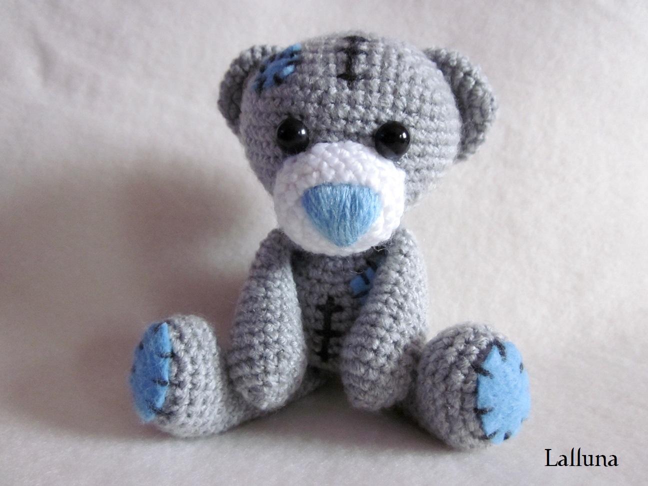 Amigurumi Teddybär Kasimir Silberlicht