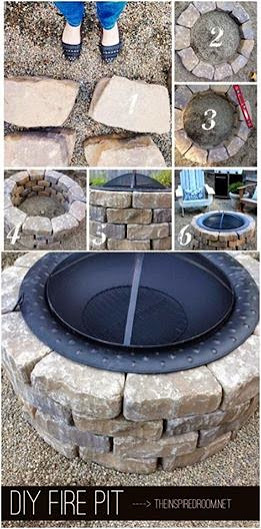 15 Minute DIY Fire Pit!