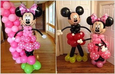 Balloon Decorations Idea!