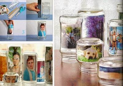 Photo Frame Using Jars