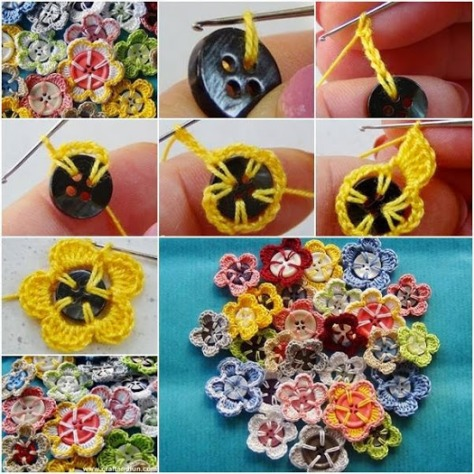 Creative Uses For Grandma's Old Buttons.