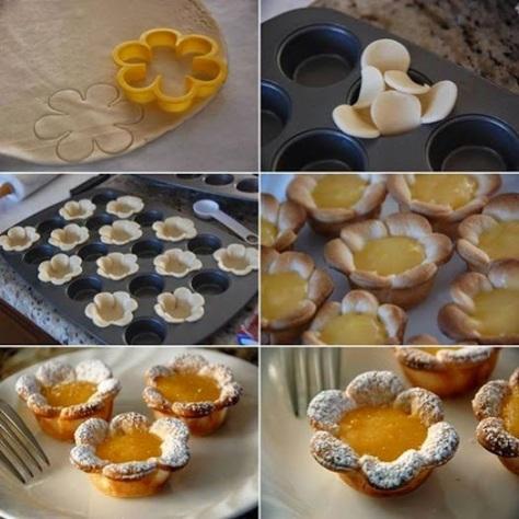 Delicious Lemon Flowers.