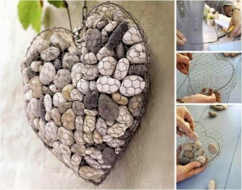 Practical Ideas on How to Create a Unique Stone Heart.