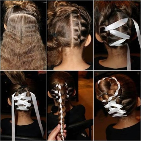 Ribbon Braiding.