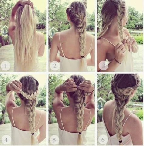 Romantic Hairstyle.